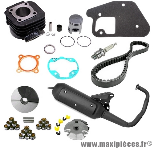 Pack moteur type origine mbk booster 2004, stunt naked, next generation…
