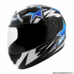 Casque type integral enfant marque NoEnd star kid by ocd blue sa36y taille YS