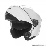 Casque type integral modulable marque Nox n960 blanc perle taille l