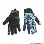 Gants moto trendy ete gt625 - goias camo bleu / bleu taille L