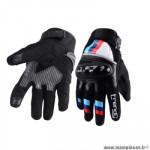 Gants moto trendy ete gt425 - ceara noir / blanc / bleu taille XS