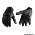 Gants moto trendy ete gt525 - acre cuir noir taille M