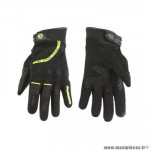 Gants moto trendy ete gt225 - callao noir / jaune fluo taille XS