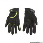 Gants moto trendy ete gt225 - callao noir / jaune fluo taille L