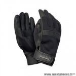 Gants moto printemps/ete mixte tucano bob noir taille XXL
