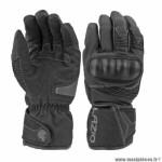 Gants lazio sweet hiver waterproof coques noir taille xxl