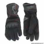 Gants motos noend gtr blizzard waterproof coques black taille XS