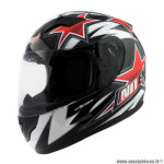 Casque type integral enfant marque NoEnd star kid by ocd red sa36y taille YL