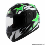 Casque type integral enfant marque NoEnd star kid by ocd green sa36y taille YM
