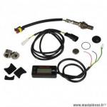Manometre de controle mélange air-essence digital marque Malossi rapid sense sytem avec capteur