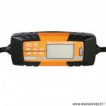 Chargeur de batterie et maintien de charge sc power scz15 automatique 6-12v avec écran lcd courant de sortie 1a à 4.5a selectionnable (livré avec pinces crocodiles + connexions rapides avec oeillets et fusibles)