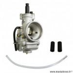 Carburateur cp 21 evolution marque Polini (avec depression+graissage, starter à cable - 201.2101)