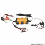 Chargeur de batterie et maintien de charge sc power scz8 automatique 12v 800ma avec maintien de charge (convient pour toutes batteries au plomb conventionnelles, sans entretien, agm et gel)