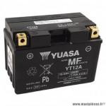 Batterie 12v 10ah yt12a marque Yuasa (lg150XL87xh105mm)