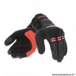 Gants printemps/été femme marque Tucano Urbano Lady Penna couleur noir/rouge T7 taille S