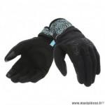 Gants printemps/été femme marque Tucano Urbano Lady Miky couleur noir tiffy graphic T7 taille S
