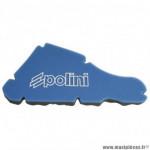 Mousse filtre à air double densite marque Polini pour scooter piaggio 50 typhoon 1994 à 1999, nrg 1994 à 1999, ntt 1994 à 1999 (203.0137)