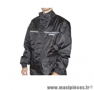 Veste pluie marque Steev Sheffield Noir taille L