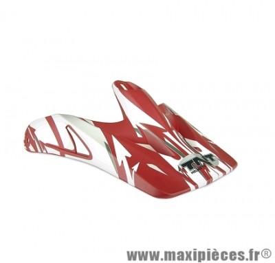 Visière Blanche/Rouge pour Casque Viper 2 SC05