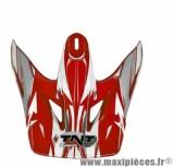 Visière Blanche/Rouge pour Casque Viper 3 SC05