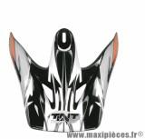 Visière Casque Moto Cross marque Viper 3 Noir/Blanc/Orange SC05