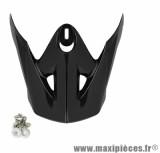 Visière Casque Moto Cross marque TNT Helmets SC05 Noir Brillant Uni