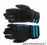 Gants Cross marque Noend Mxcolor Noir/Bleu taille XS