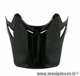 Visière Casque Moto Cross Enfant marque TNT Helmets X2 Noir Brillant Uni