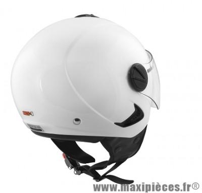 Casque Demi-Jet marque ALT-1 Urban taille L (59-60cm) Blanc