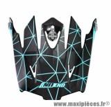 Visière Casque Moto Cross marque NoEnd Origami Light Blue SC15