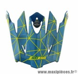Visière Casque Moto Cross marque NoEnd Origami Acid SC15
