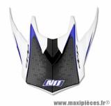 Visière Casque Moto Cross marque NoEnd Defcon By OCD White/Blue TX696