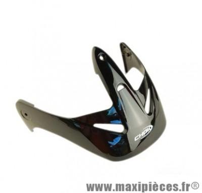 Visière Casque Chok Jet Stinson (V590 ) Noire (3 Fixations)
