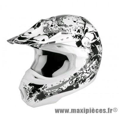 Casque Moto Cross marque TNT Helmets Dead Head SC05 taille M (57-58cm)