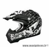 Casque Moto Cross marque TNT Helmets Street SC05 taille XS (53-54cm)