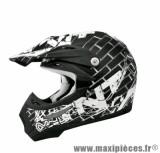 Casque Moto Cross marque TNT Helmets Street SC05 taille M (57-58cm)
