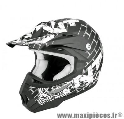 Casque Moto Cross marque TNT Helmets Street SC05 taille L (59-60cm)