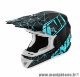 Casque Moto Cross taille XL marque NoEnd Origami Light Blue SC15 (61-62cm)