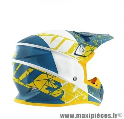 Casque Moto Cross marque NoEnd Origami Acid SC15 taille XXL (63-64cm)
