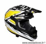 Casque Moto Cross taille XL marque ADX MX2 Blaze Jaune (61-62cm)