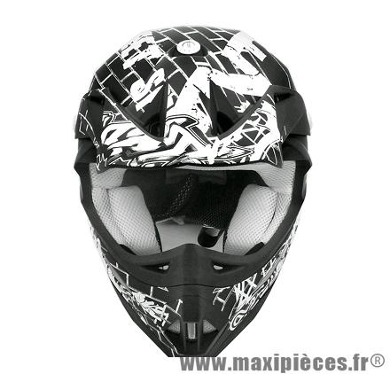 Casque Moto Cross marque TNT Helmets Street SC05 taille XXL (63-64cm)