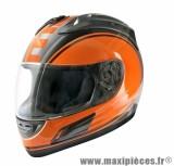 Casque Intégral marque TNT Merack2 Noir/Orange taille XS (53-54cm)