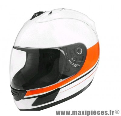 Casque Intégral marque TNT Helmets Merack3 Blanc/Bleu Brillant taille XS (53-54cm)