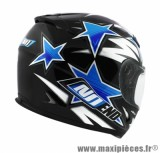 Casque Intégral marque NoEnd Star By OCD Blue SA36 double visière taille XXL (63-64cm)