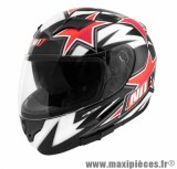 Casque Intégral marque NoEnd Star By OCD Red SA36 double visière taille M (57-58cm)