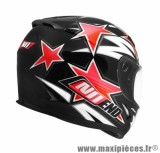 Casque Intégral marque NoEnd Star By OCD Red SA36 double visière taille XXL (63-64cm)