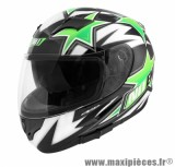 Casque Intégral marque NoEnd Star By OCD Green SA36 double visière taille L (59-60cm)