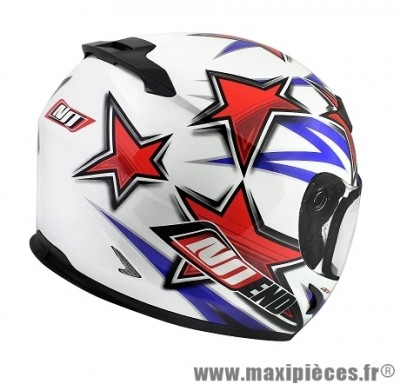 Casque Intégral taille S marque NoEnd Star By OCD Patriot SA36 double visière (55-56cm)