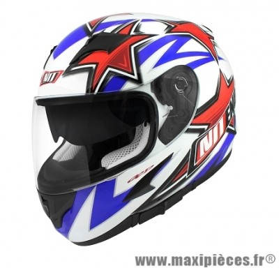 Casque Intégral taille XL marque NoEnd Star By OCD Patriot SA36 double visière (61-62cm)