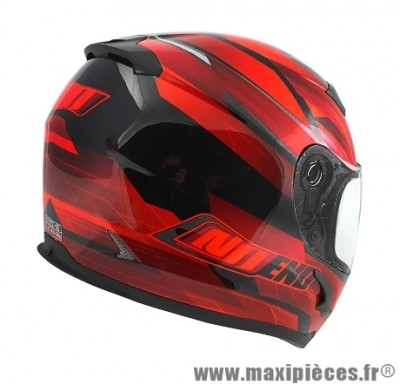 Casque Intégral marque NoEnd Race By OCD Red SA36 double visière taille L (59-60cm)